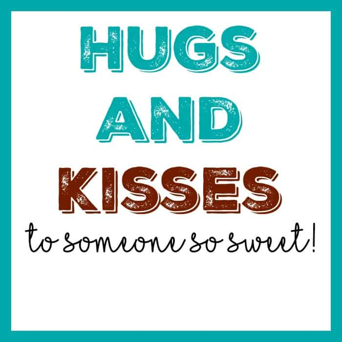 Hugs and Kisses Tag