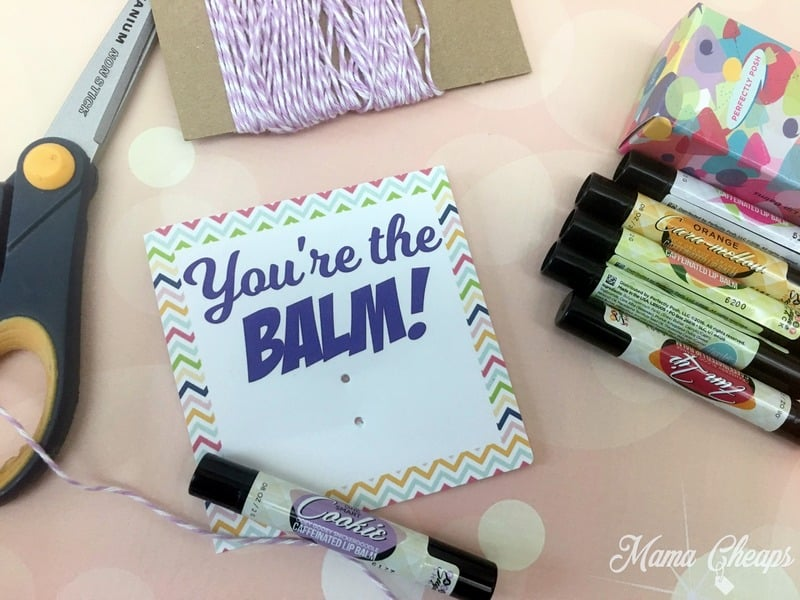 Lip Balm Teacher Gift