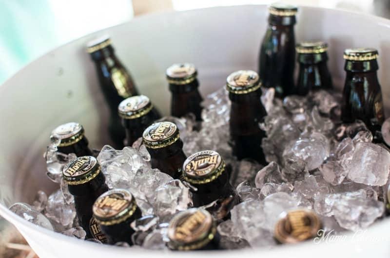 Root Beer in Glass Bottles