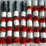 American Flag Fruit Kabob