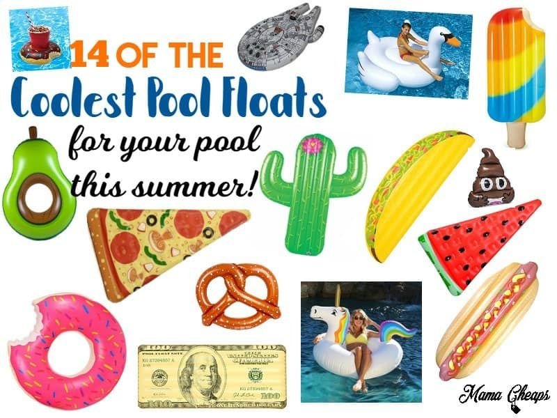 Coolest Pool Floats for Summer