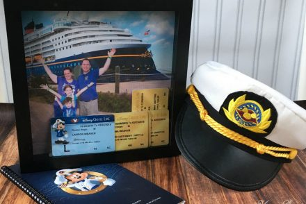 Disney Cruise Shadowbox Craft Idea