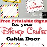 Free Disney Cruise Decorations
