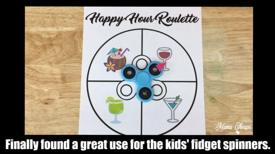 picture relating to Fidget Spinner Printable named Fidget Spinner Printable - Pleased Hour Roulette Mama Cheaps