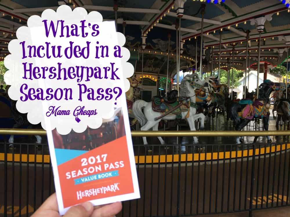 Included in a Hersheypark Season Pass