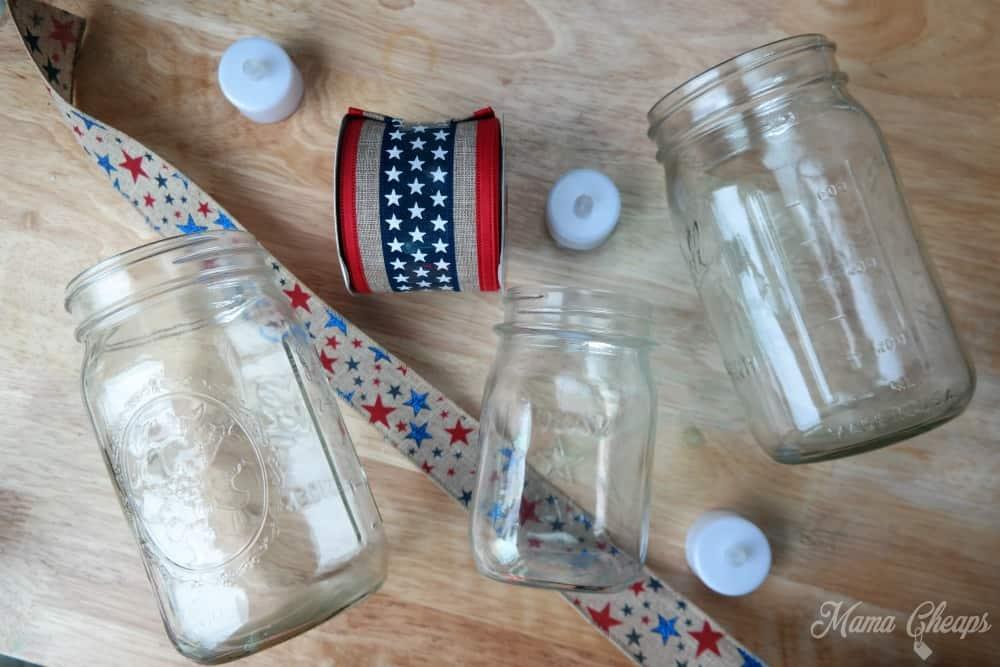 Mason Jar Luminary Supplies