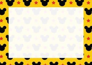 Mickey Yellow Sign
