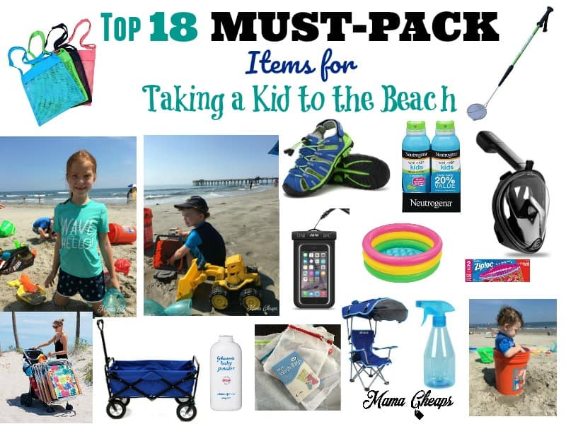 Must-Pack Items for Taking a Kid to the Beach