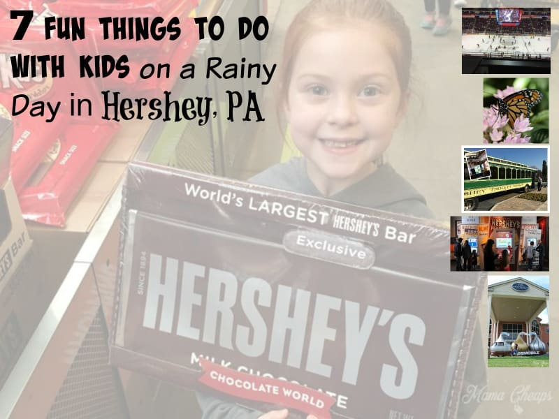 Fun Things to Do with Kids on a Rainy Day in Hershey