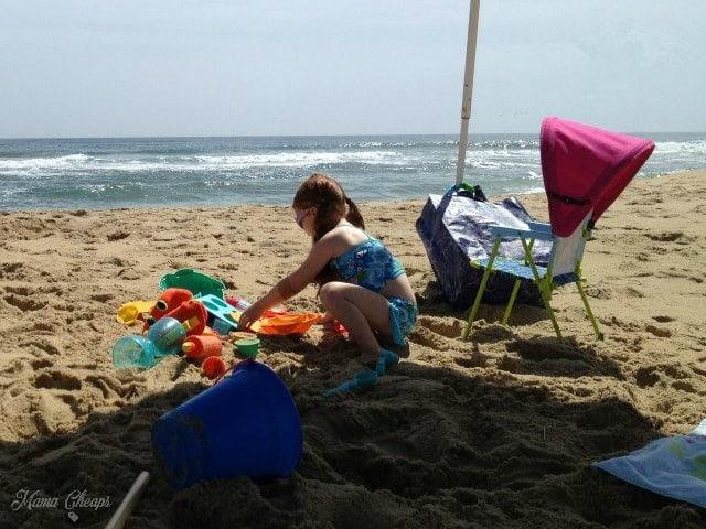 kid beach chair