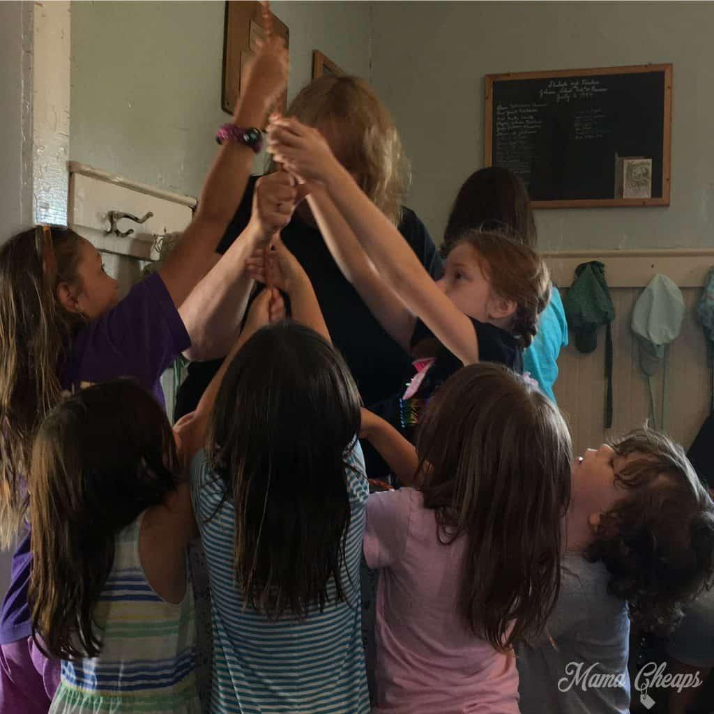 Ringing Schoolhouse Bell