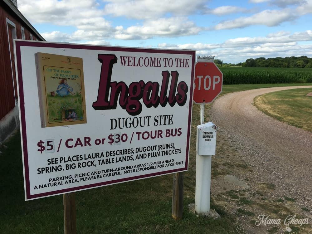 Ingalls Dugout Walnut Grove