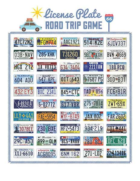 15 Free Printable Road Trip Activities And Games For Kids Mama