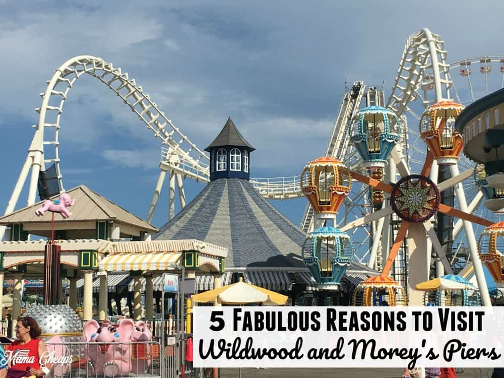 Fabulous Reasons to Visit Wildwood and Moreys Piers