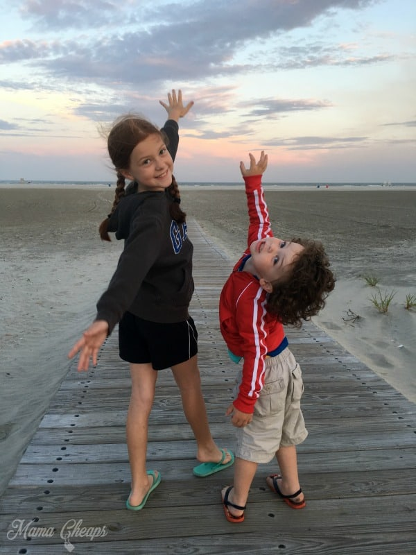 Kids on Wildwood Beach