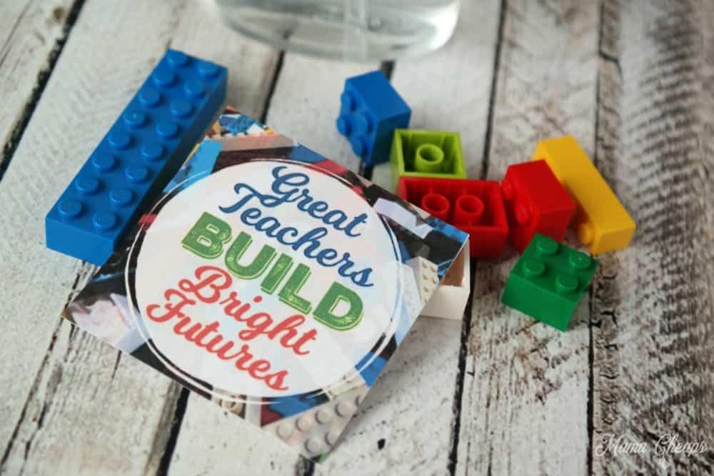 Lego Teacher Gift