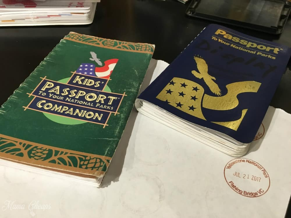 National Park Passport Books