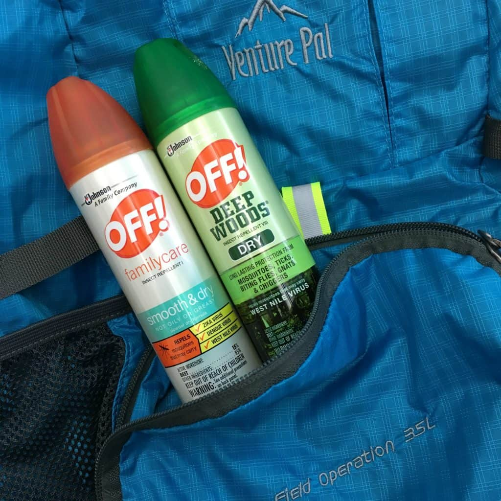 OFF in Backpack