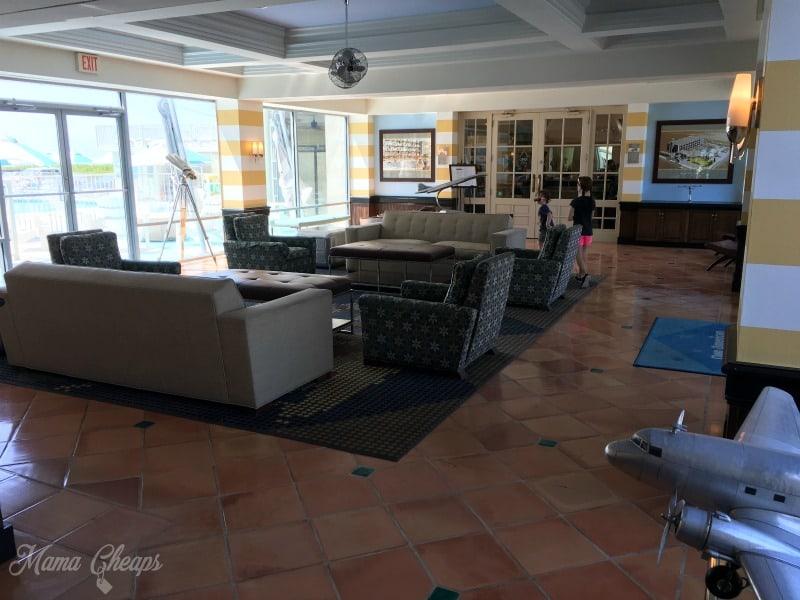 Pan American Hotel Lobby