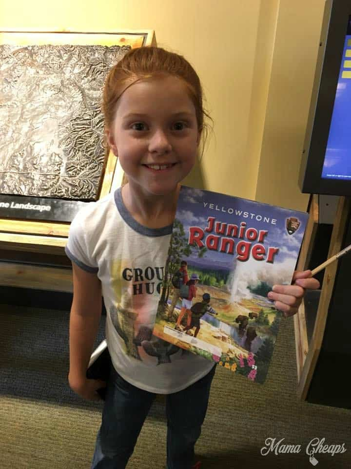 National Parks Junior Ranger Booklet