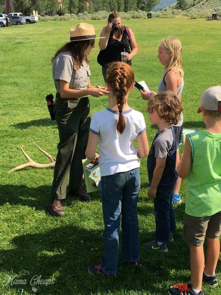 National Parks Junior Ranger Talk