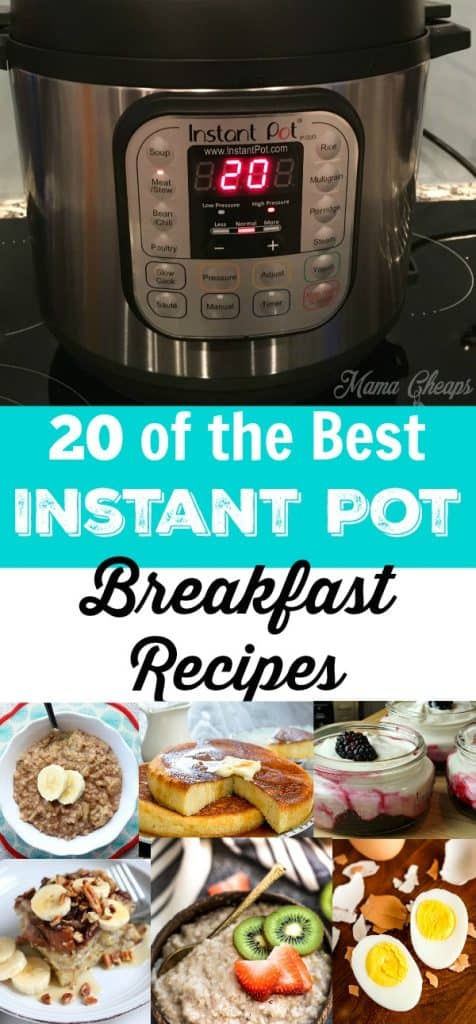 The Best Instant Pot Breakfast Recipes