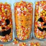 Candy Corn Centerpiece Ideas