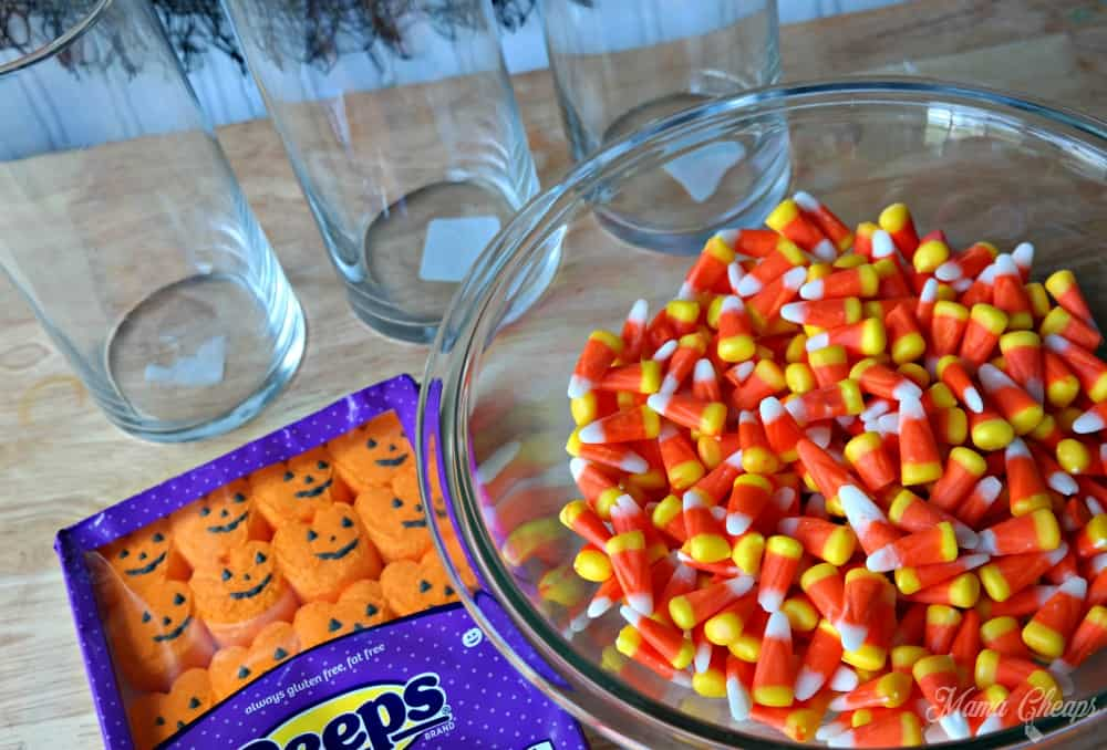 Candy Corn Pumpkin Peeps