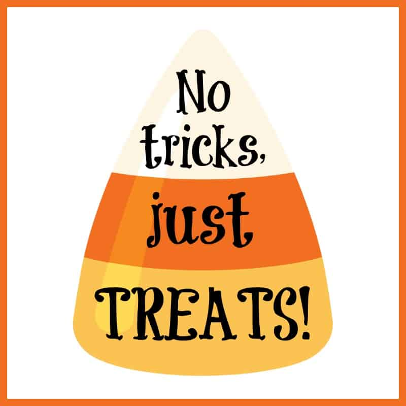 picture about Printable Holloween named No cost Printable Halloween Present Tags for Sweet Snacks Mama