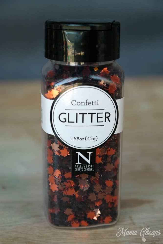 Maple Leaf Confetti Glitter