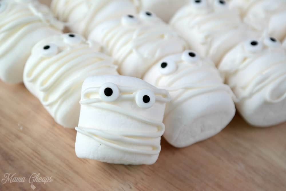 Marshmallow Mummies Snack