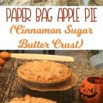 Paper Bag Apple Pie