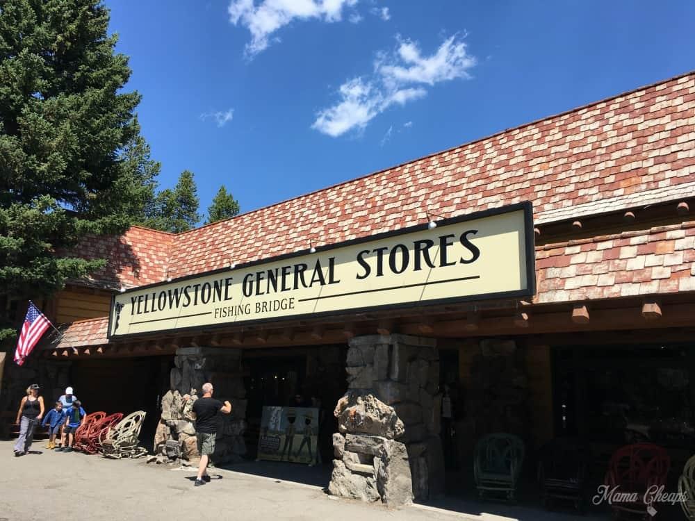 Yellowstone Store