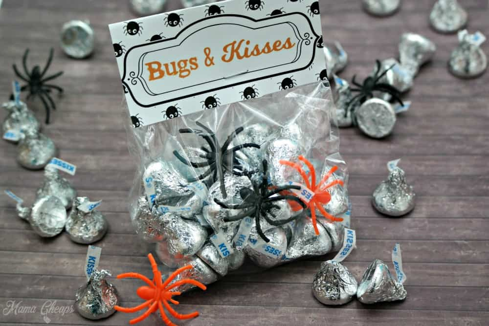 Bugs and Kisses Halloween Treats