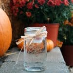 Easy Mason Jar Floating Candle Luminary