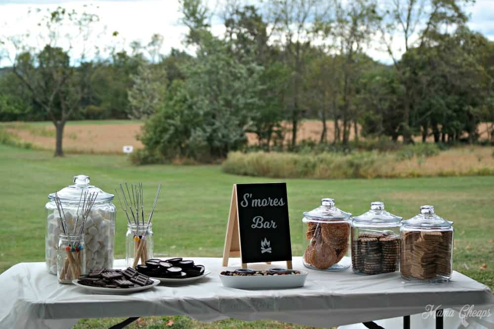 S'mores Bar at Party