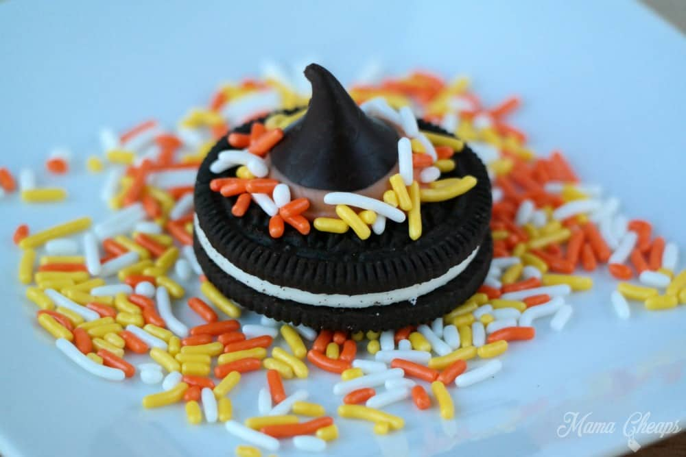 Witch Hat Cookie Snack