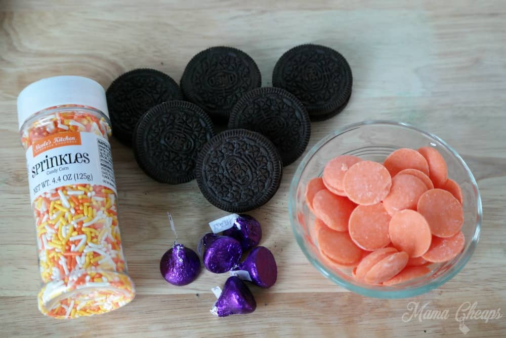 Witch Hat Cookies Ingredients