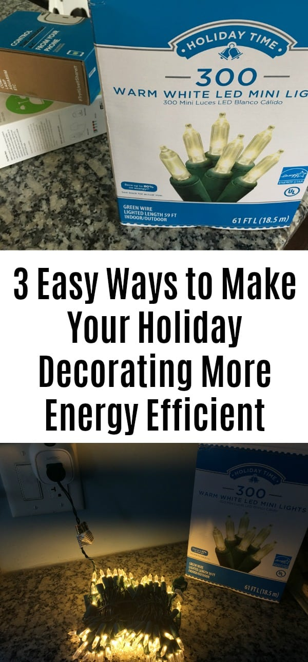3 Easy Ways to Make Your Holiday Decorating More Energy Efficient