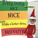 Naughty and Nice List Free Printable