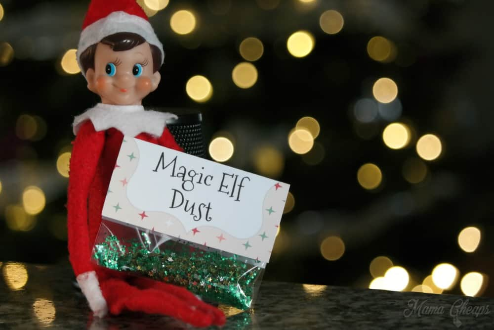 Magic Elf Dust Free Printable