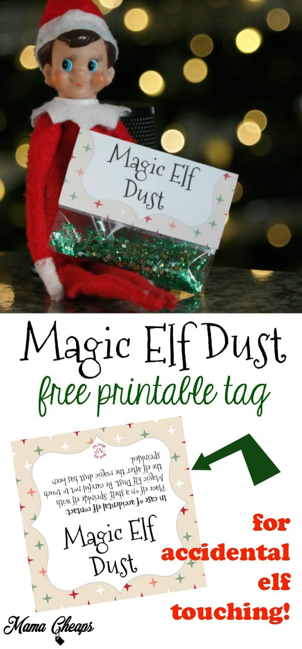Magic Elf Dust Free Tag