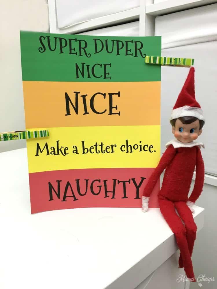 Naughty Nice Meter Elf