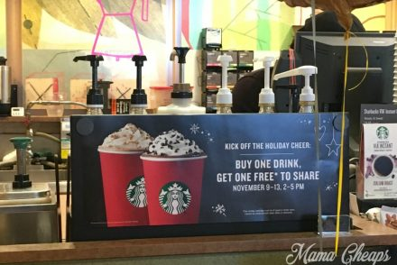 Starbucks Happy Hour BOGO Free
