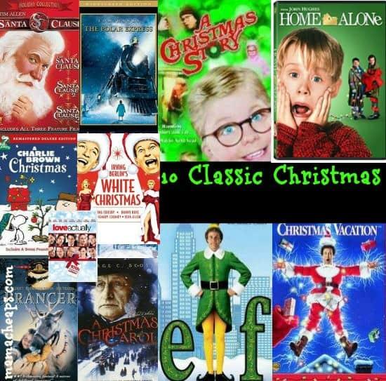 fave christmas movies