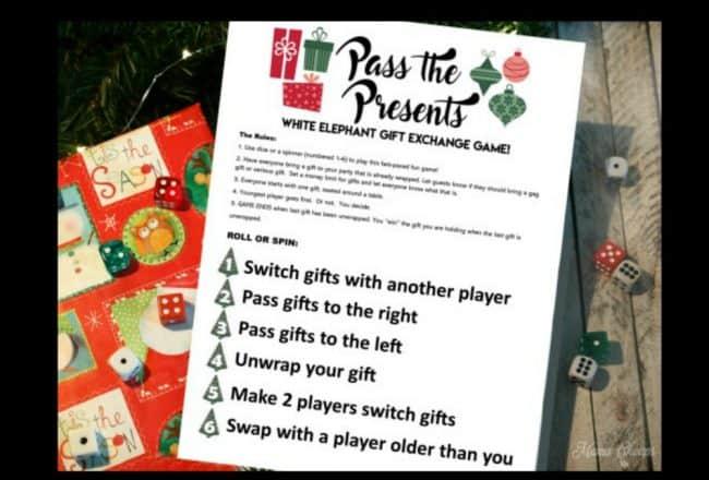 present game