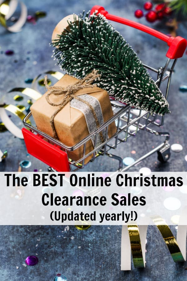 BEST Online Christmas Clearance Sales