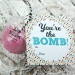Bath Bomb Gift Tag