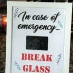 Break Glass Printable