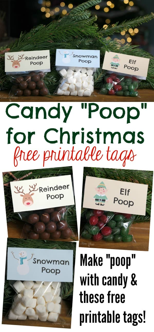 Candy Poop for Christmas